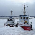 Bateau Saint-Laurent hiver