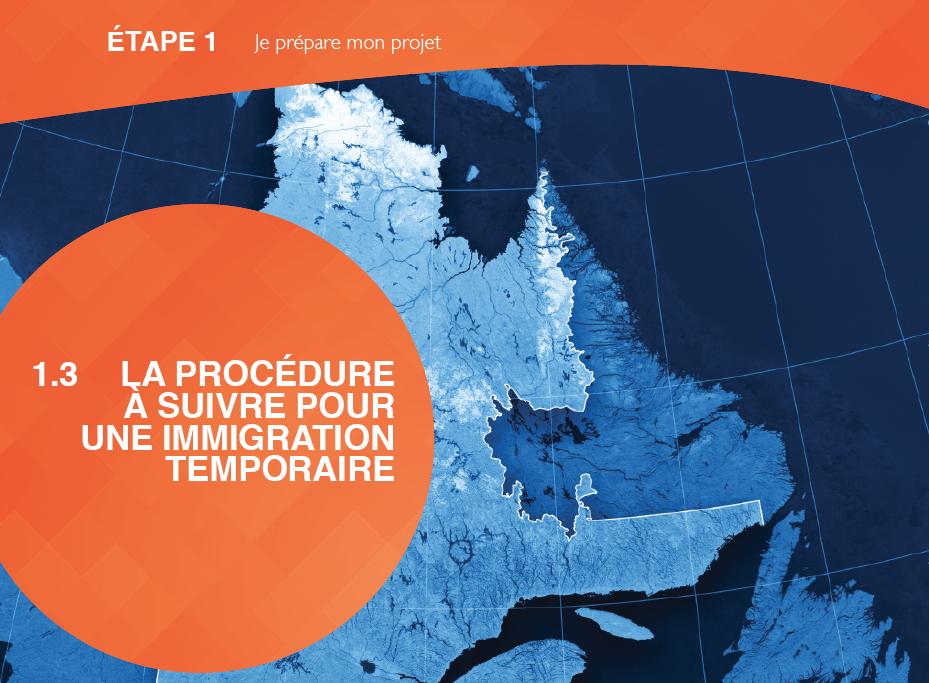 visa de travail temporaire au Québec