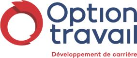 logo de l'organisme Option Travail qui aide les immigrants dans leur parcours d'intération au Québec