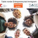 Des entreprneurs immigrants souriants à l'idée de particpaer à la septième Table ronde sur l'Entrepreneuriat immigrant de la région de Québec