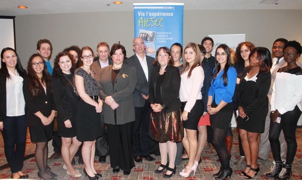 Armelle Rossetti AIESEC Laval Conférence Diversité culturelle