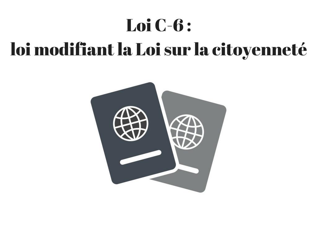 Loi C-6
