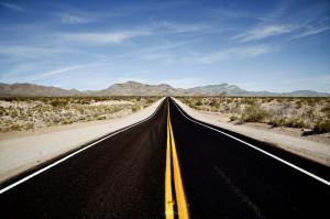Route-désert
