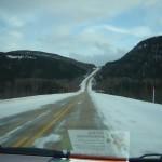 Route hiver Québec conduite